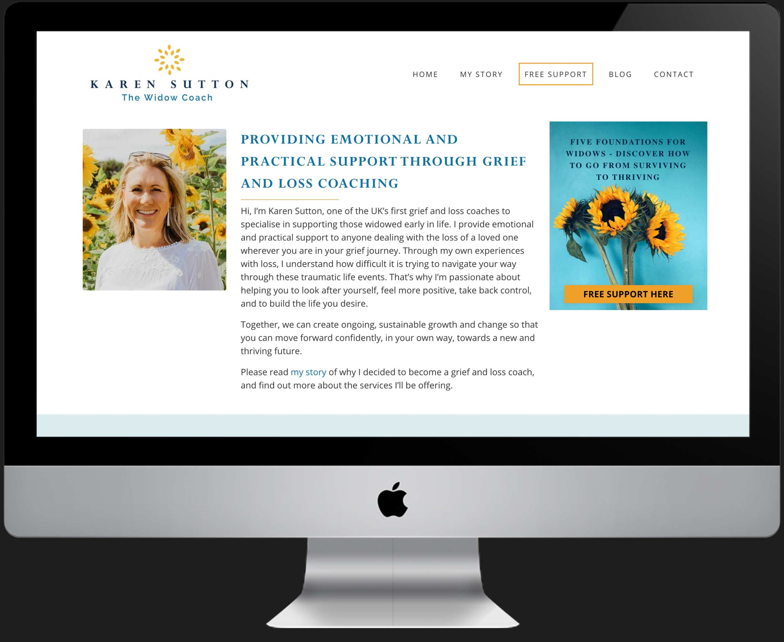 Your Personal Brand Website ready to promote